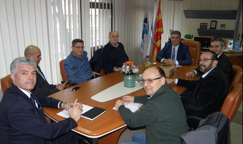 The Director General of the CAA Mr. Tuntev held a working meeting with the representatives of the scheduled airlines in the Republic of North Macedonia