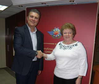 Meeting of the Director General Tuntev and EASA expert