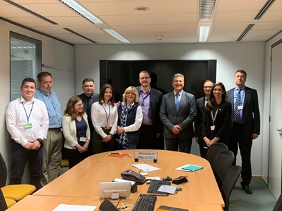 Meeting of the Director General Mr.Tuntev with the Macedonians in EUROCONTROL